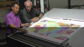 Étape de fabrication des cartes géologiques © BRGM - Pierre Nehlig